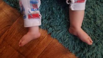 nico feet 8 months